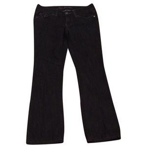 NWT Womens Size 4 GUESS Black Flap Pocket Jeans